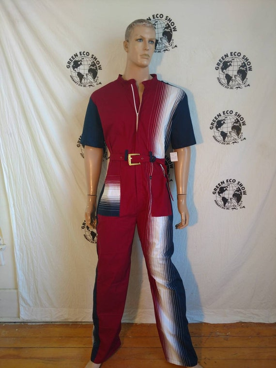 017a64480681 Mens Jumpsuit Romper Herman s Eco made in USA L x 32