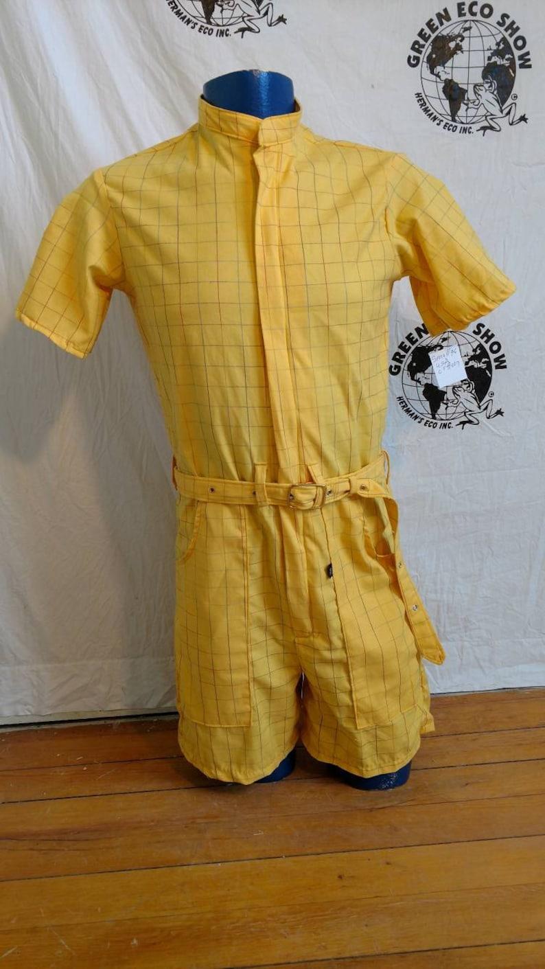 585c7e7df7b Mens Romper shorts 36 Small Hermans Eco USA Cotton plaid