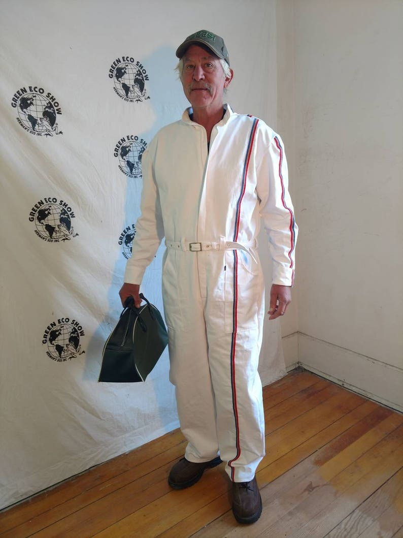 0a082c5374f Romper mens pants XL X 32 by Herman ECO jumpsuit sewn stripe