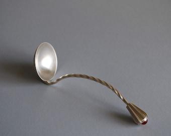 Art Deco Sterling Silver Gravy Ladle