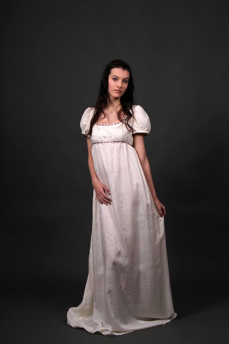 4ba526afa3d Desiree regency dress romantic wedding dress empire waist