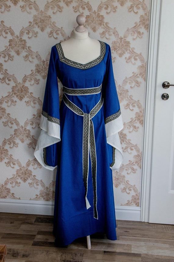 Mittelalterkleid Prinzessin Kapuze Prinzessinenkleid Mittelalter Kleid Kostüm