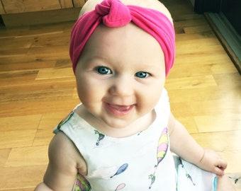 Baby Wisp® Turban Headbands, Baby Knot Headbands, Modern Baby Headband, Infant Headbands, Baby Headwraps, Baby Headbands, Soft Fabric