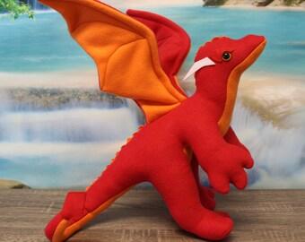 Habanero the Stuffed Dragon