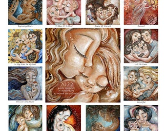 2022 Mother & Child Art Calendar ~ autographed