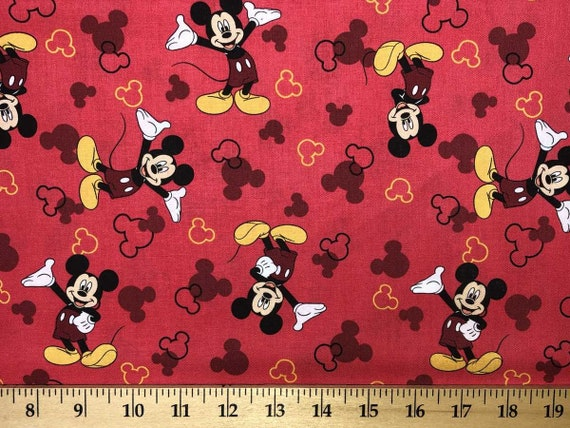 Mickey Mouse With Hearts Black Red Curtain Valance Home Kitchen Curtains Blinds Shutters