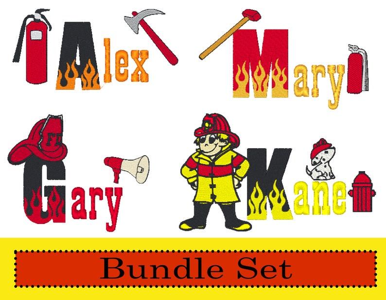 BX Blaze Font Burning Flames Monogram Fires Firefighting Instant Download 79 Fireman Firefighter Embroidery Machine Designs Bundle Set