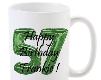 Happy Birthday Personalized Full Color Mug