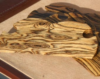Hand Crafted Bocote Shuttles / Beaters for Card / Tablet / Inkle Weaving