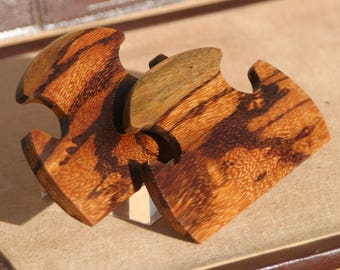 Hand Crafted Marblewood Shuttles / Beaters for Card / Tablet / Inkle Weaving