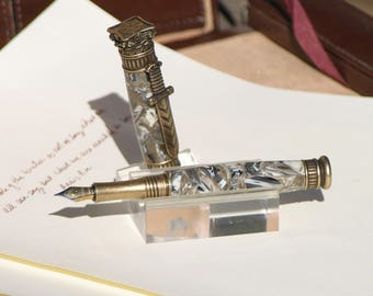 Mount Olympus brass plated Fountain Pen