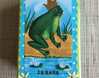 Loteria Decoupage La Rana Frog GiftBox