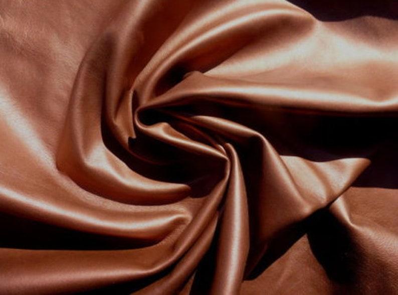 Lambskin sheepskin skin leather hide Ultra Thin Taupe Grey Brown glove soft 1oz