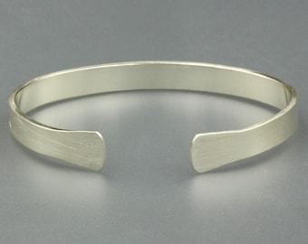 Bracelets  Cuff Bracelet  Silver Bracelet  Bracelet for Men  Womens Bracelet  Groomsmen Gift, Boyfriend Gift, Gift for Dad, Mens Bracelet