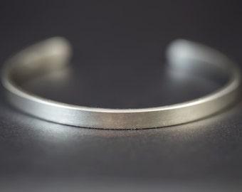 Man Silver Bracelet Silver Bangle Men's Silver Bracelet Cuff Bracelet Silver Bracelet Women Sterling Silver Bangle Cuff Bracelet Silver