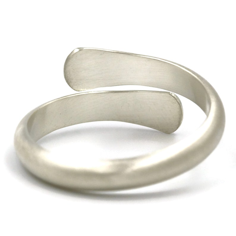 Silver Rings Gift for Women Gift for Boyfriend Sterling Silver Ring Gift for Her Adjustable Ring Men Jewelry Gift Jewelry Guys Ring