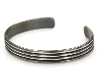 Man Cuff Bracelet, Sterling Silver Cuff Bracelet Men, Men's Jewelry, Man Silver Bracelet, Silver Bracelet Men, Silver Bangle, Black Oxidised