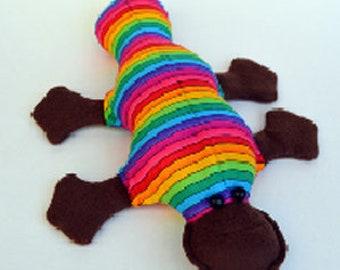 cute handmade platypus