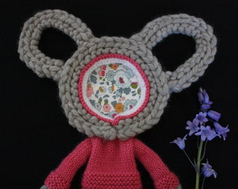 Hand Knitted Wall Hanging No.11 Hetty