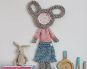 Handmade Knitted Wall Hanging No.10 Effie