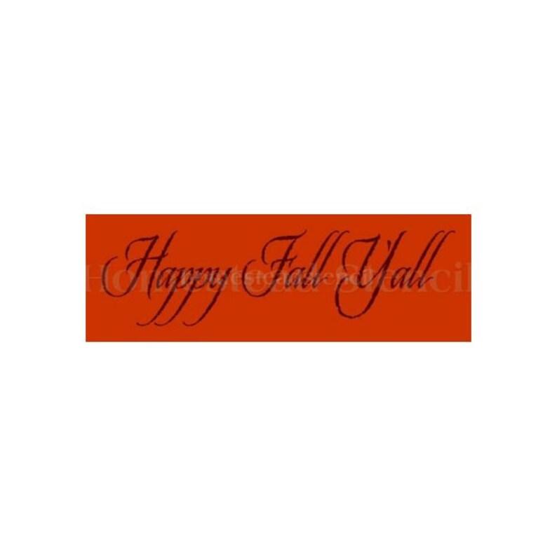 STENCIL 5197 E Craft Stencil DIY Wall Stencil Stencils 6x18 Happy Fall Yall Painting Template Wall Decor Painting Stencil