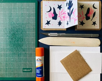 Service for handmade and artist made edition of 30 books