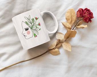 Illustrated mugs