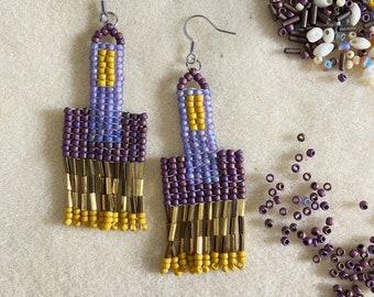 June Beaded Earrings .02
