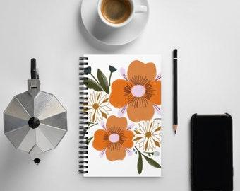 Las Flores de San Germán 03 Spiral notebook