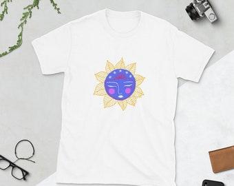 Carita de Flor 02 Short-Sleeve Unisex T-Shirt