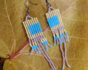 June Beaded Earrings