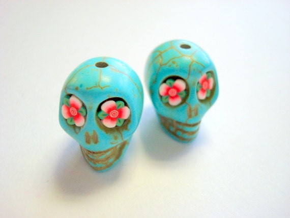 """4"""" Pink Skull with Rush and eyes"""