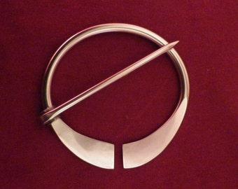 Stainless Steel Penannular Brooch