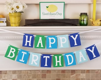 1st Birthday Decorations Boy