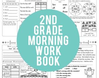 2nd grade math | Etsy
