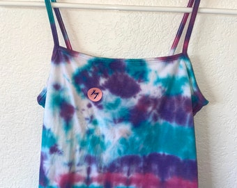 Hand Dyed Tie Dye Tank Top