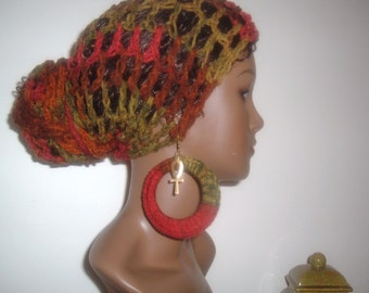 THE MAkEEDA HEaDWRAP and Earring Set- in Mother Earth