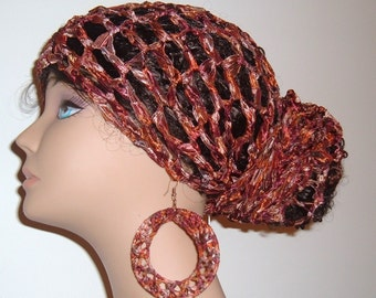 THE MAkEEDA HEaDWRAP and Earring Set in Autumn Leaves