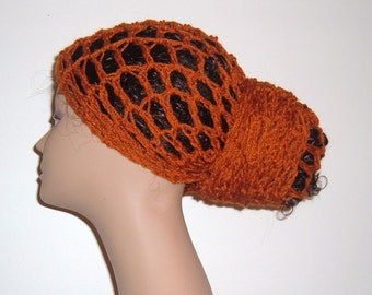 THE Original  MAkEEDA Yohari HEaDWRAP in Rust Orange or You Choose the Color