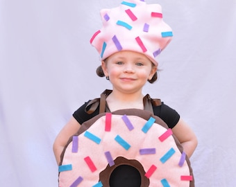 Baby Costume Donut Costume Halloween Costume Toddler Costume Infant Costume Baby Costume Donut With Sprinkles Doughnut Costume Dunkin Donut  sc 1 st  Etsy & Baby Popcorn Costume Toddler Newborn Halloween Costume Photo | Etsy