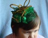 Ugly Christmas Headband Tacky Presents Ornaments Headband Ugly Party Accessories Tacky Christmas Free Shipping Glitter Hair Xmas Sparkly