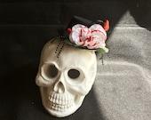 Mini Hat Rose Hat Halloween Hat Costume Headpiece Costume Accessory Womens Costume Hat Photography Prop