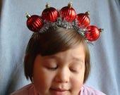 Ugly Christmas Headband Tacky Ornaments Headband Ugly Party Accessories Tacky Christmas Free Shipping Glitter Hair Band Xmas Holiday Festive