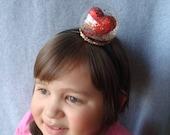 Snowglobe Headband Valentines Day Headband Heart Headband Hair Accessory Glitter Love Hair Girl Woman One Size Fits All Free Fast Shipping