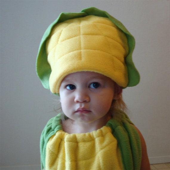 Baby Corn On The Cob Costume Hallowen Infant Toddler