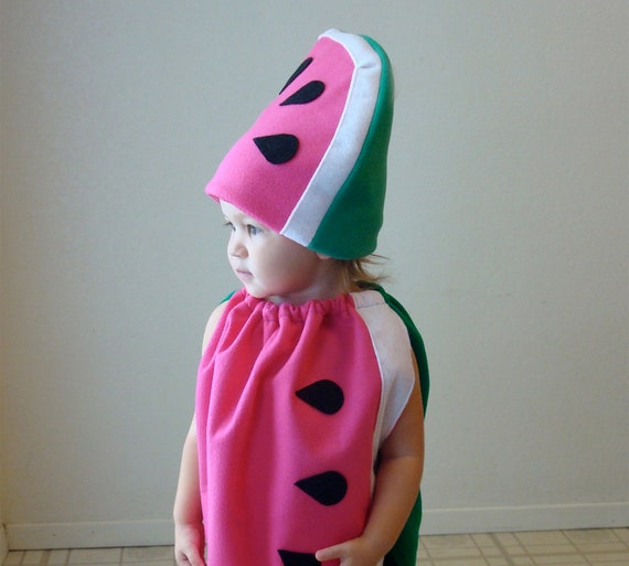 Ready To Ship  3-6 month size... Watermelon Costume