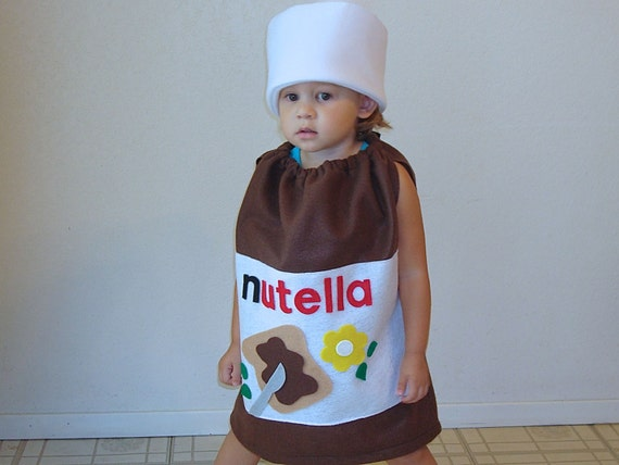 Adult Costume Nutella Halloween Costume Hazelnut Spread Photo Prop Funny Costume Dress Up Carnaval Carnival Karneval Purim Fancy Dress 3THEfZx