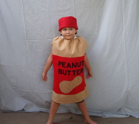 baby costume peanut butter costume halloween costume toddler etsy