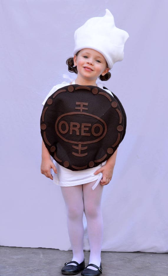 Baby and Child Oreo Costume for Halloween