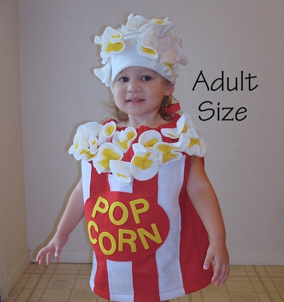sc 1 st  Etsy : popcorn costume for adults  - Germanpascual.Com